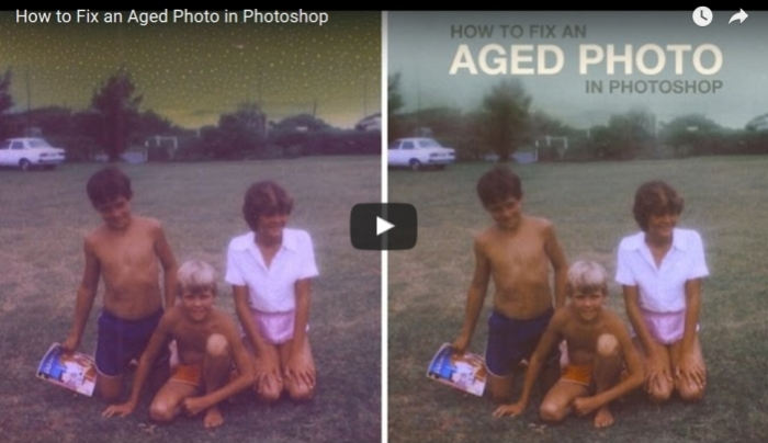 How to restore old photos in photoshop elements 9