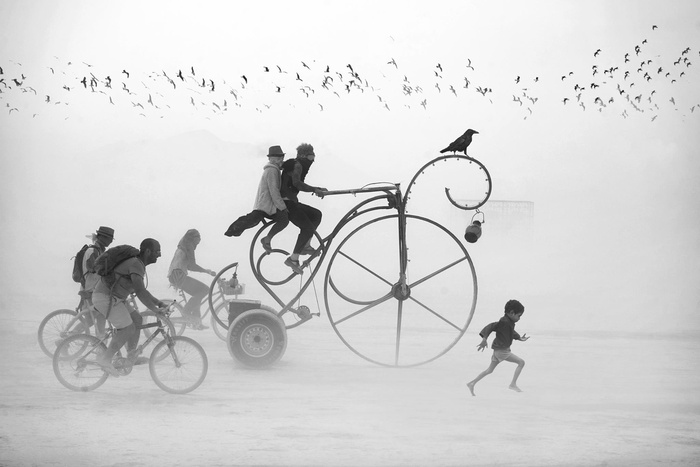 Surreal 2016 Burning Man Photographs By Victor Habchy
