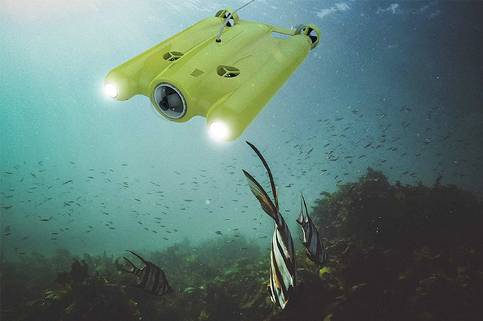 Consumer Drones Go Underwater With The Gladius Fstoppers