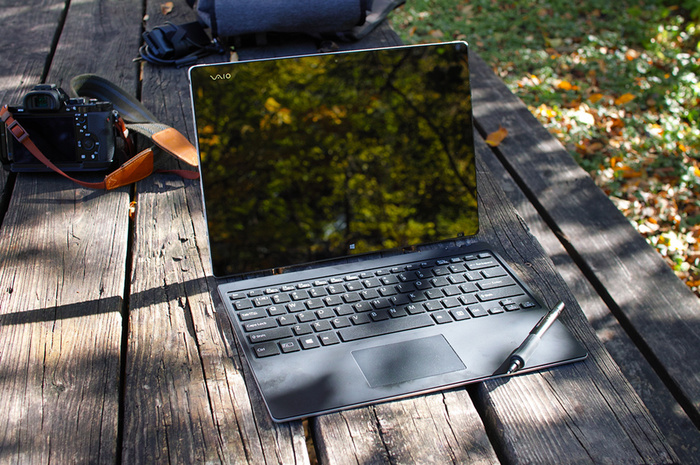 Hands-On Review of the VAIO Z Canvas Tablet Computer as a Mobile Photography Workstation