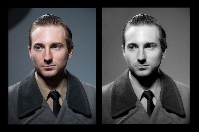 Creating an Early 20th Century Style Portrait