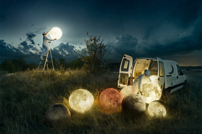 Conceptual Photography Master Reveals How It's Done Behind the Scenes
