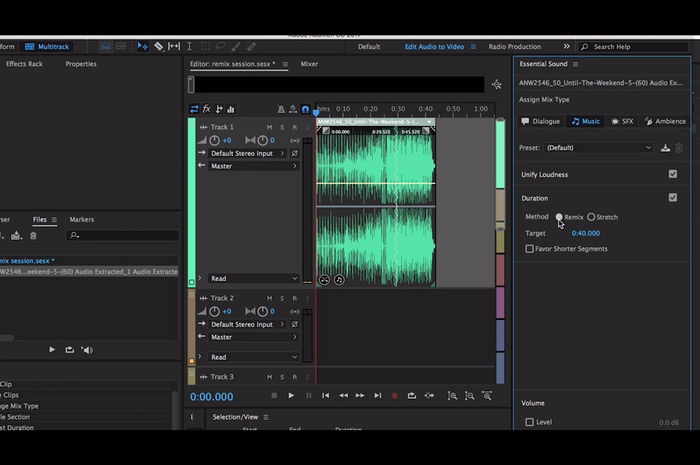 Magically Remix Your Music to Be the Same Length as Your Videos