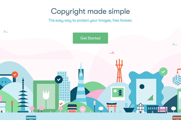Binded: A Quick and Easy Way to Copyright Your Images