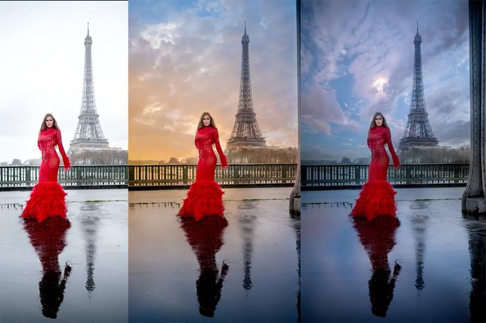 Photo Editing - Magazine cover