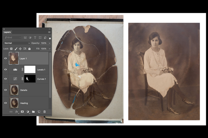 Restoring the Past With Photoshop