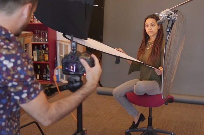 Using Reflectors to Take Better Portraits