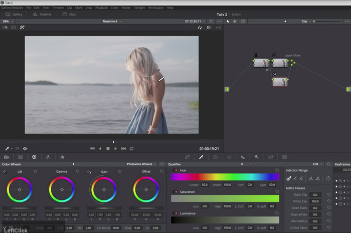 How to Set the White Balance of Your Video Footage in DaVinci