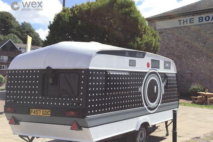 Meet the Photographer Who Turned a Camper Into a Giant Camera and Darkroom