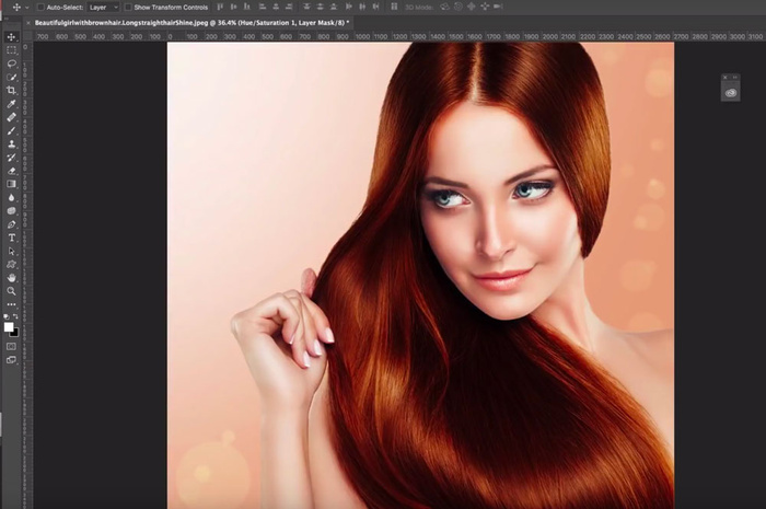 how to change my hair style changing hair to any color in photoshop fstoppers 8567 | change hair color in photoshop