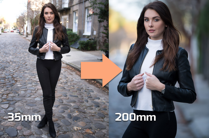 How to Control Your Portrait Backgrounds With a 70-200mm Telephoto Lens