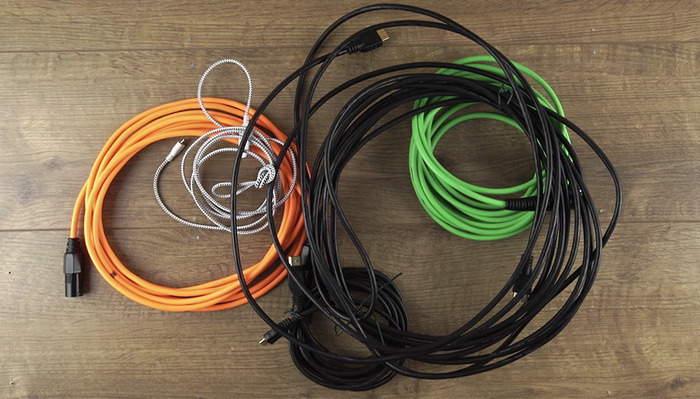 How to Properly Wrap Cables to Make Them Last Longer and Easier to Use