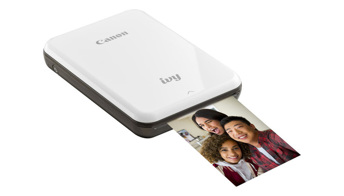 Canon Gets Into the Lucrative Mobile Photo Printer Market With the IVY