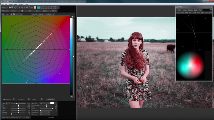 How to Mimick the Technicolor Two-Strip Look in 3D LUT Creator