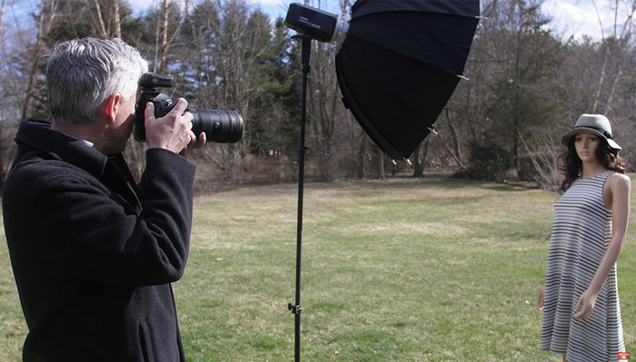 How to Overcome Harsh Sunlight by Shooting Outdoor Portraits With Flash