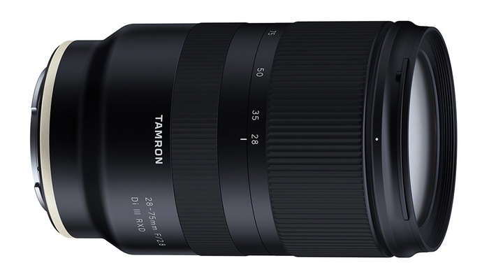 Tamron Announces the 28-75mm f/2.8 Di III RXD Lens for Sony E Mount ...