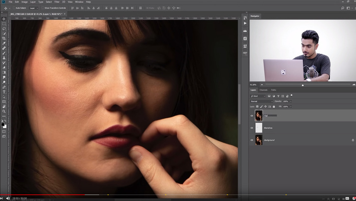 Start-to-Finish High-End Skin Retouching in Photoshop