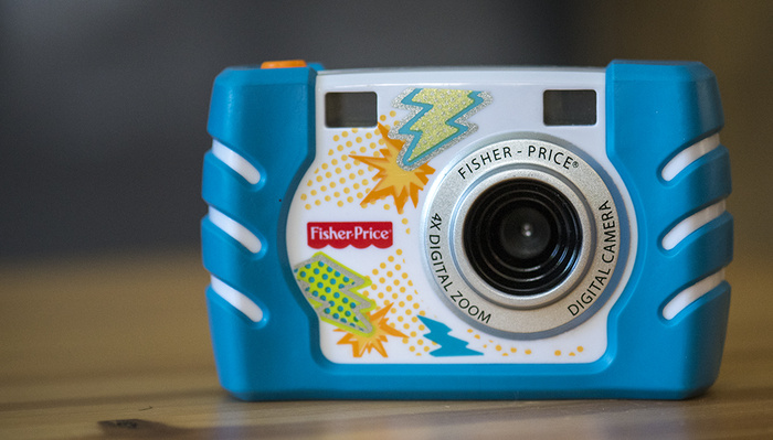 Fstoppers Reviews the Fisher Price Kid-Tough Digital Camera (Really)