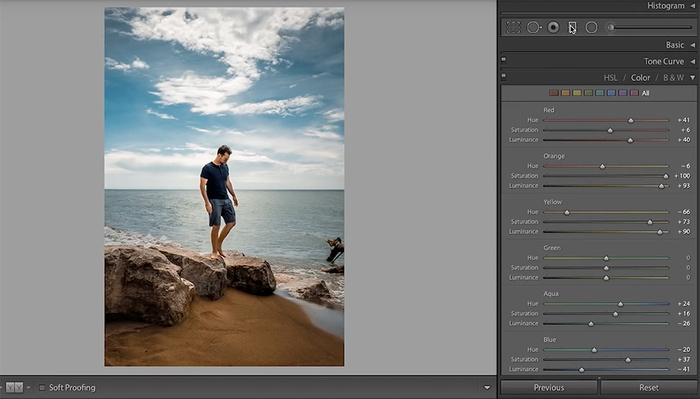 How to Use the HSL Panel in Lightroom
