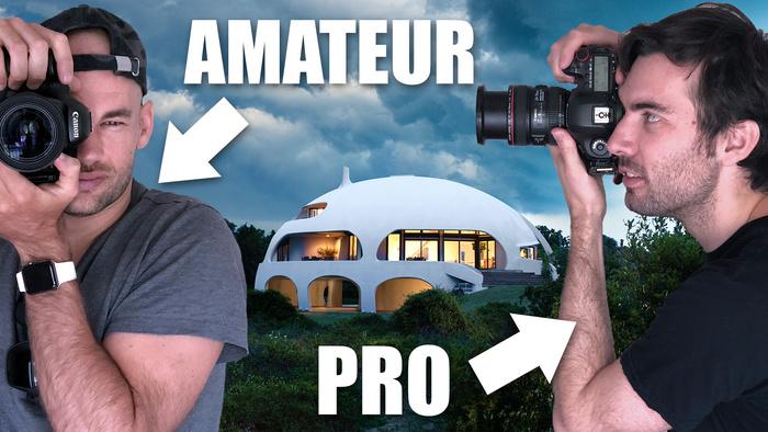 "Amateur Vs Pro Architecture Photographer Shoot The ""Dome House"" | Fstoppers"
