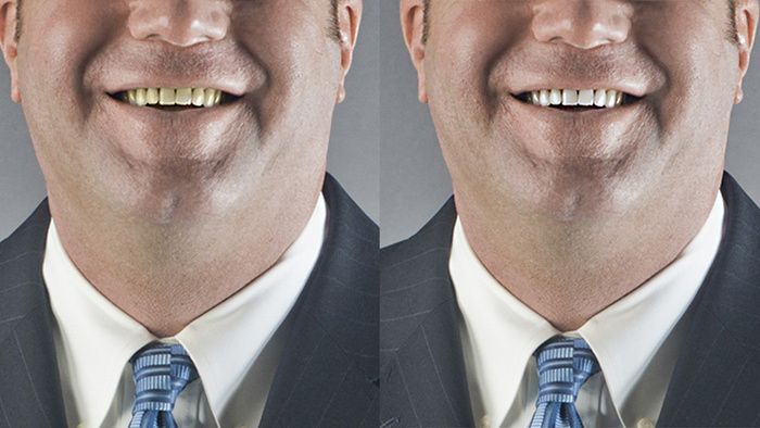 Create an Easy Photoshop Action for Teeth Whitening