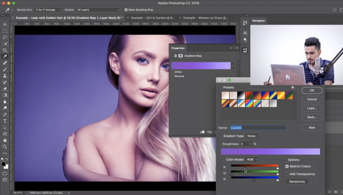 Get Inspired With Just One Click in Photoshop