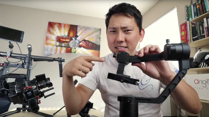 Balancing Any Gimbal Stabilizer for Smooth Cinematic Video