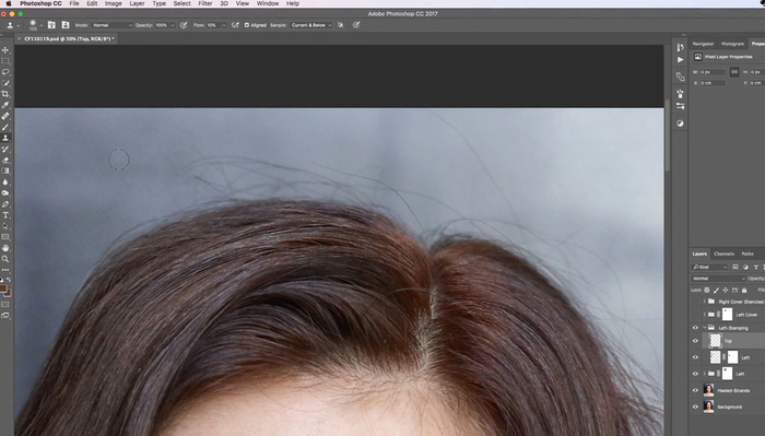 Fstoppers Reviews the Hair Retouching Course From Retouching Academy