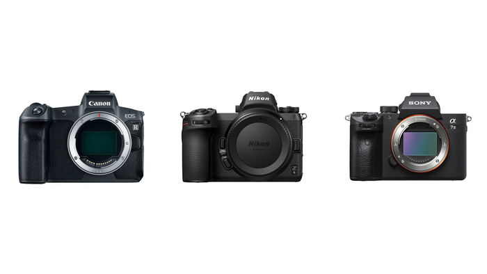 Mirrorless Spec Comparison and Discussion: Canon EOS R, Nikon Z6, and Sony a7 III
