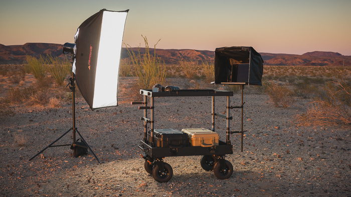 An Assistant On Wheels. Fstoppers Reviews The INOVATIV Scout EVO 37 Equipment Cart