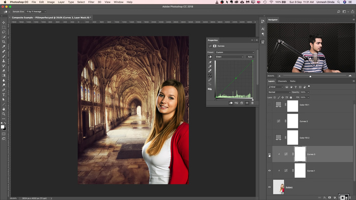 How to Match Colors for Photoshop Composites
