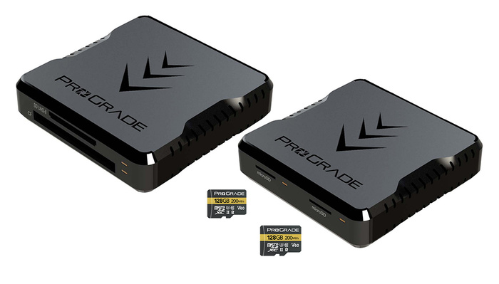 ProGrade Digital Announces Fast MicroSD Cards and Two Dual Card Readers
