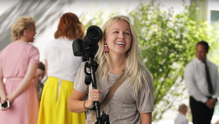 How a Female Videographer Books 80 Weddings a Year in a Male-Dominated Industry