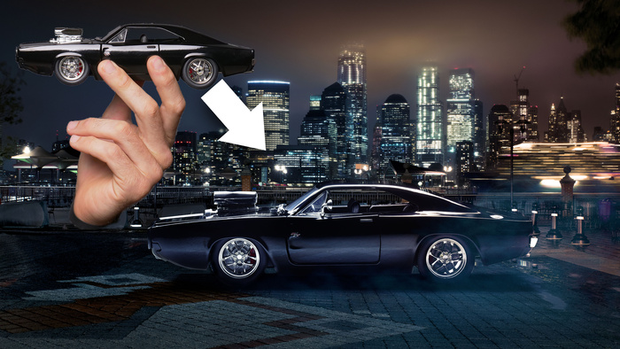 How To Photograph A Toy Car And Make It Look Real