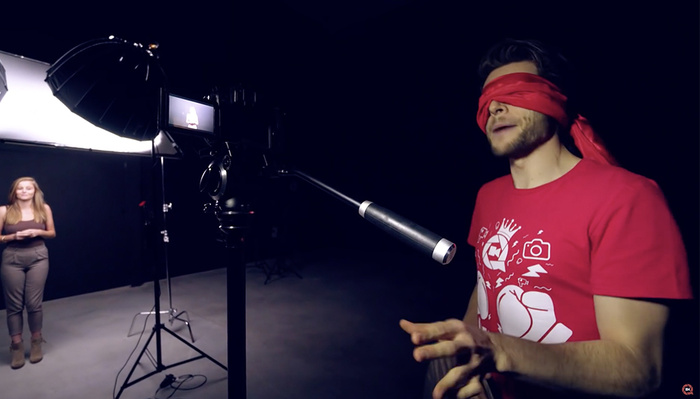 Could You Shoot a Photo Blindfolded?