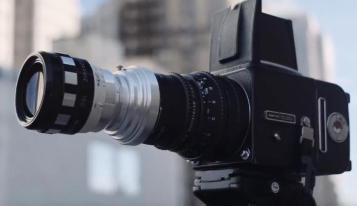 Photographer Modifies Film Hasselblad 500C/M Into a Medium Format Xpan