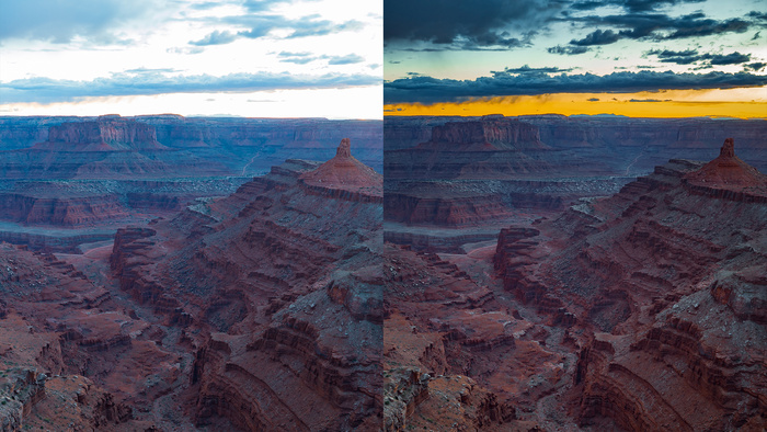 HDR in Lightroom and Photoshop