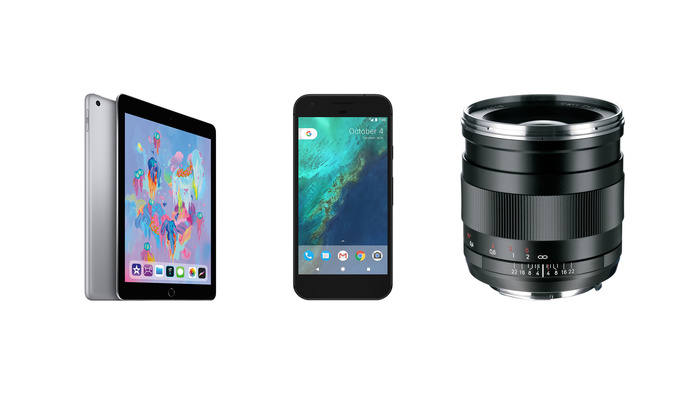 Instant Savings on iPads, Google Pixel Phones, and Zeiss Lens
