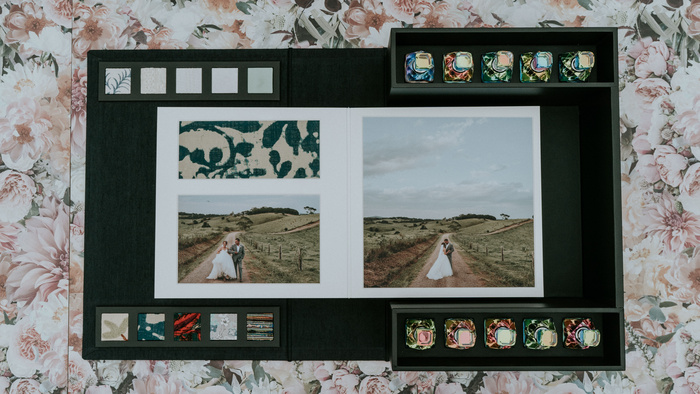 Wedding Photographer Surprises Blind Bride With an Innovative Multi-Sensory Album