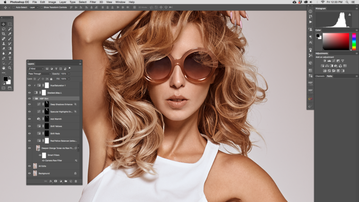 Photoshop Action: NBP Skin for Perfecting Skin Tone