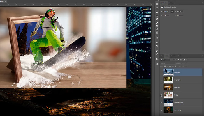 How to Open Multiple Images as Layers in Photoshop