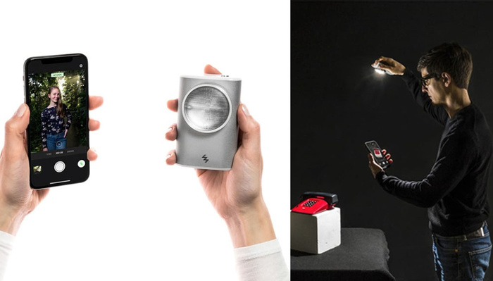 This Off-Camera Flash Allows Studio Quality Lighting for Smartphones
