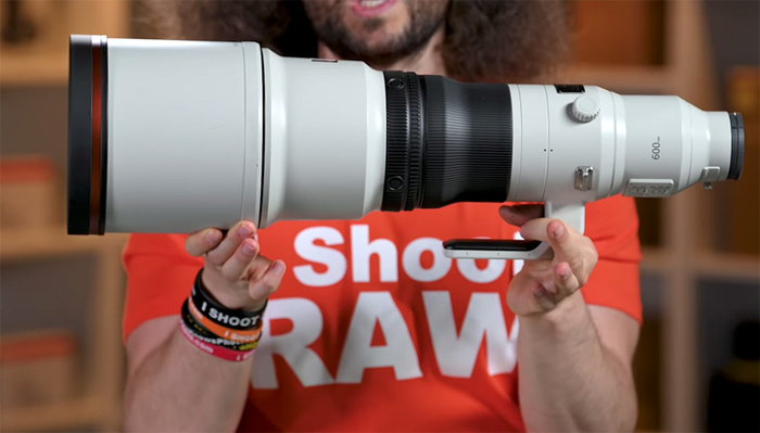 Hands On With Sony's $13,000 600mm f/4 Telephoto Beast