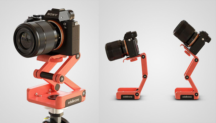 Edelkrone Announces Its First FlexTILT Tripod Head That Can Be 3D-Printed At Home