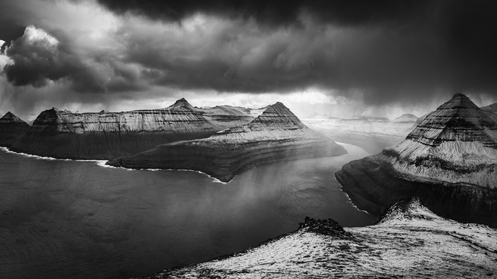 Using Black and White in Post Processing for Your Color Landscape Photo