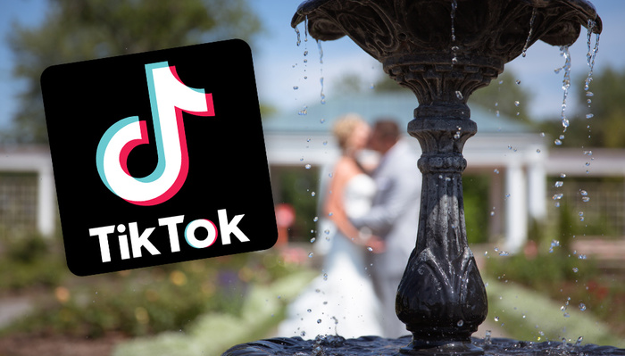 TikTok Star Interrupts Wedding Photos, Stepping on Hired Photographer's Toes