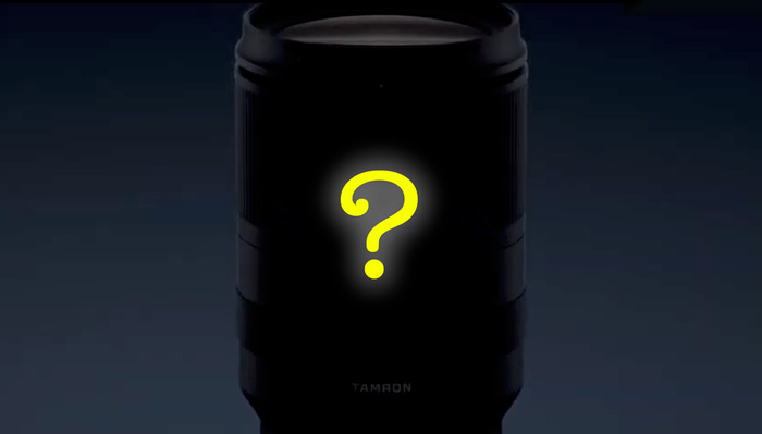 Tamron Just Teased a Mysterious New Zoom Lens for Sony Full Frame Cameras