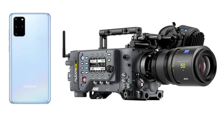How Does Footage from an 8K Phone Compare to a 2K Cinema Camera?