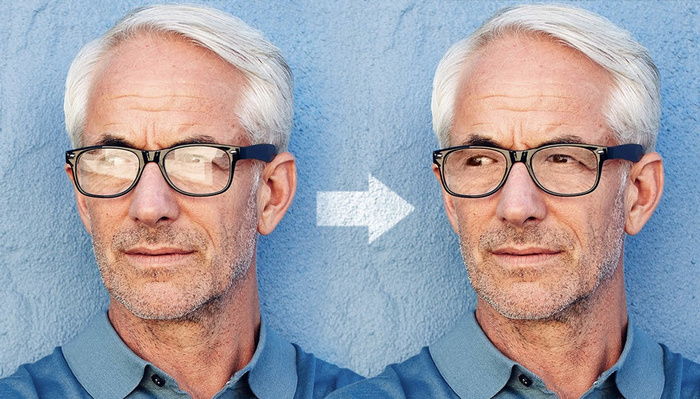 How to Remove Glare From Glasses Using Photoshop