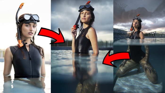 The Least Expensive Way to Shoot Underwater in a Pool